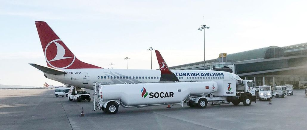 Socar put the fuel supply facility into operation at Adnan Menderes Airport.