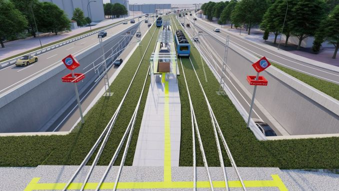New tram vehicle will be purchased for Talas homeland line