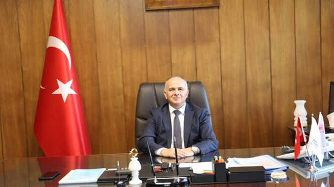 Hasan pezuk, general manager of tcdd transportation, started his duty