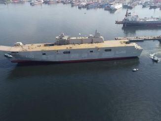 टीसीजी ने एनटोलिया में तुर्की नौसेना बलों को दिया