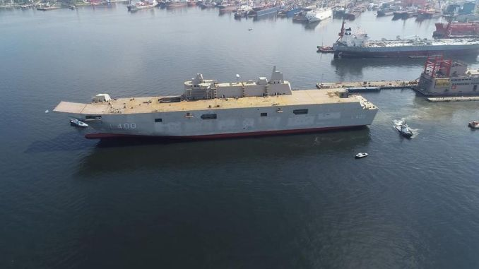 tcg delivered to turkish naval forces in anatolia