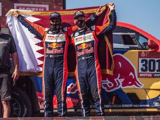 Toyota Gazoo Racing beendete die Dakar-Rallye auf dem Podium