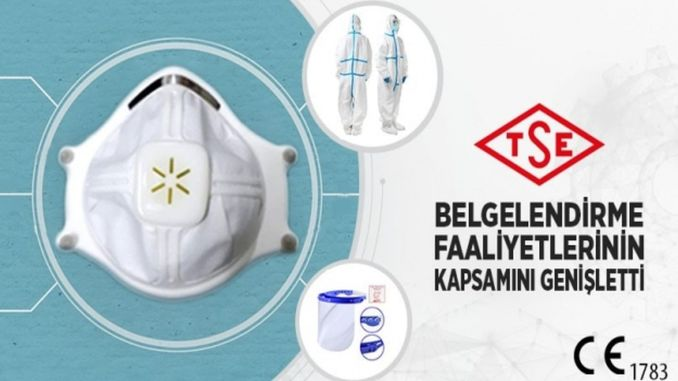 CE certification authority for tseye n masks, visors and coveralls