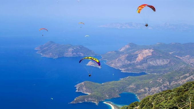 In the year nearly a million tourists entertained turkey