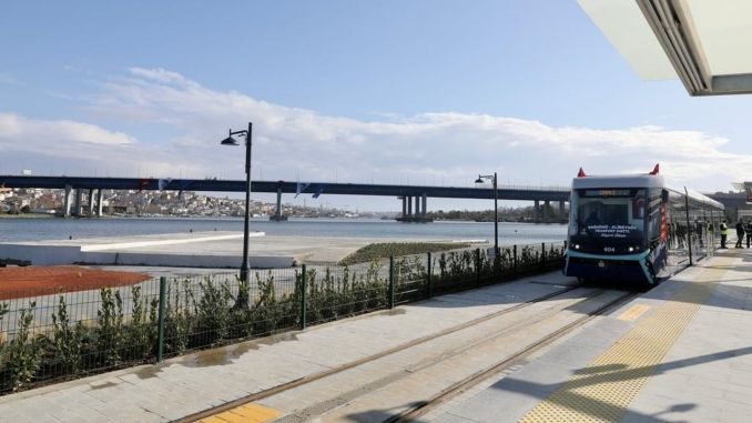 A First from Alstom in Turkey! Eminönü Alibeyköy Tram Takes Its Energy From The Ground