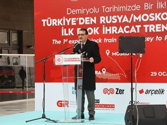 He started the first boron exports by rail to cin from turkiyede