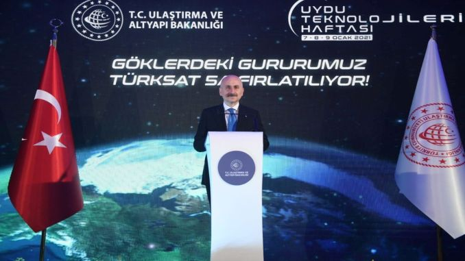 preparations for turksat a satellite are complete