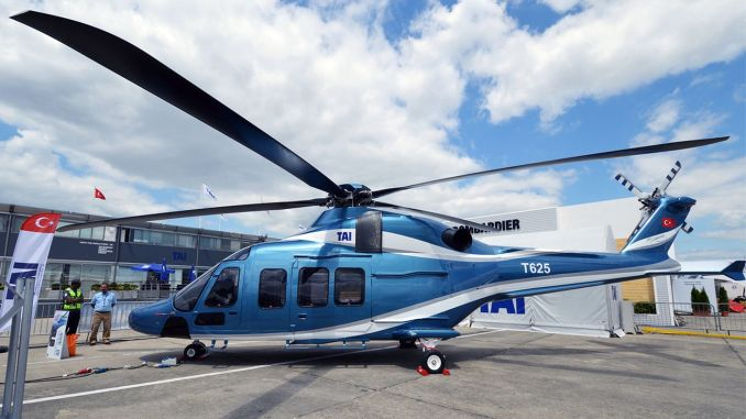 will deliver the first gokbey helicopter to the gendarmerie in tusas
