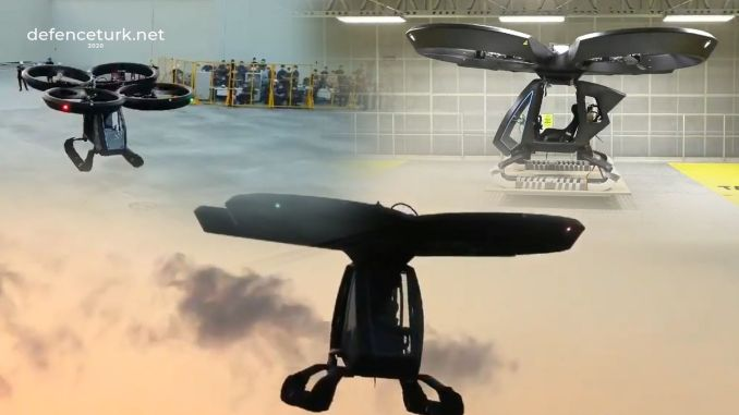 new prototypes of the domestic flying car cezer were displayed