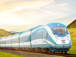 high speed train in Sivas