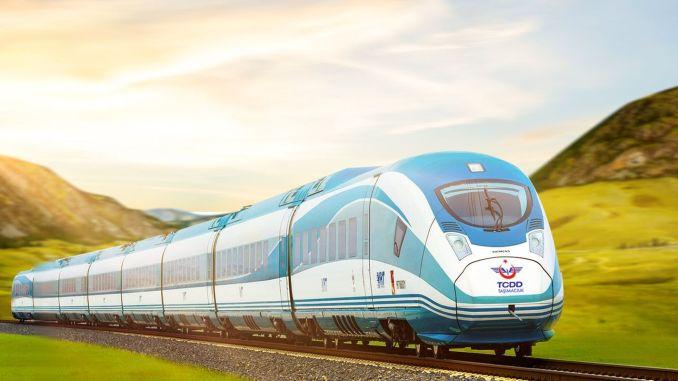 high speed train in Sivas