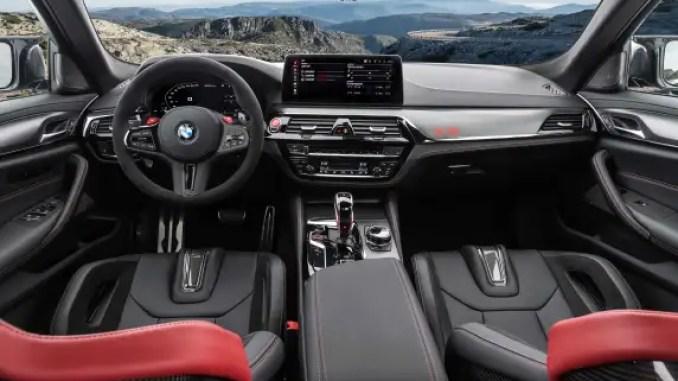 Neue BMW M CS Kabine