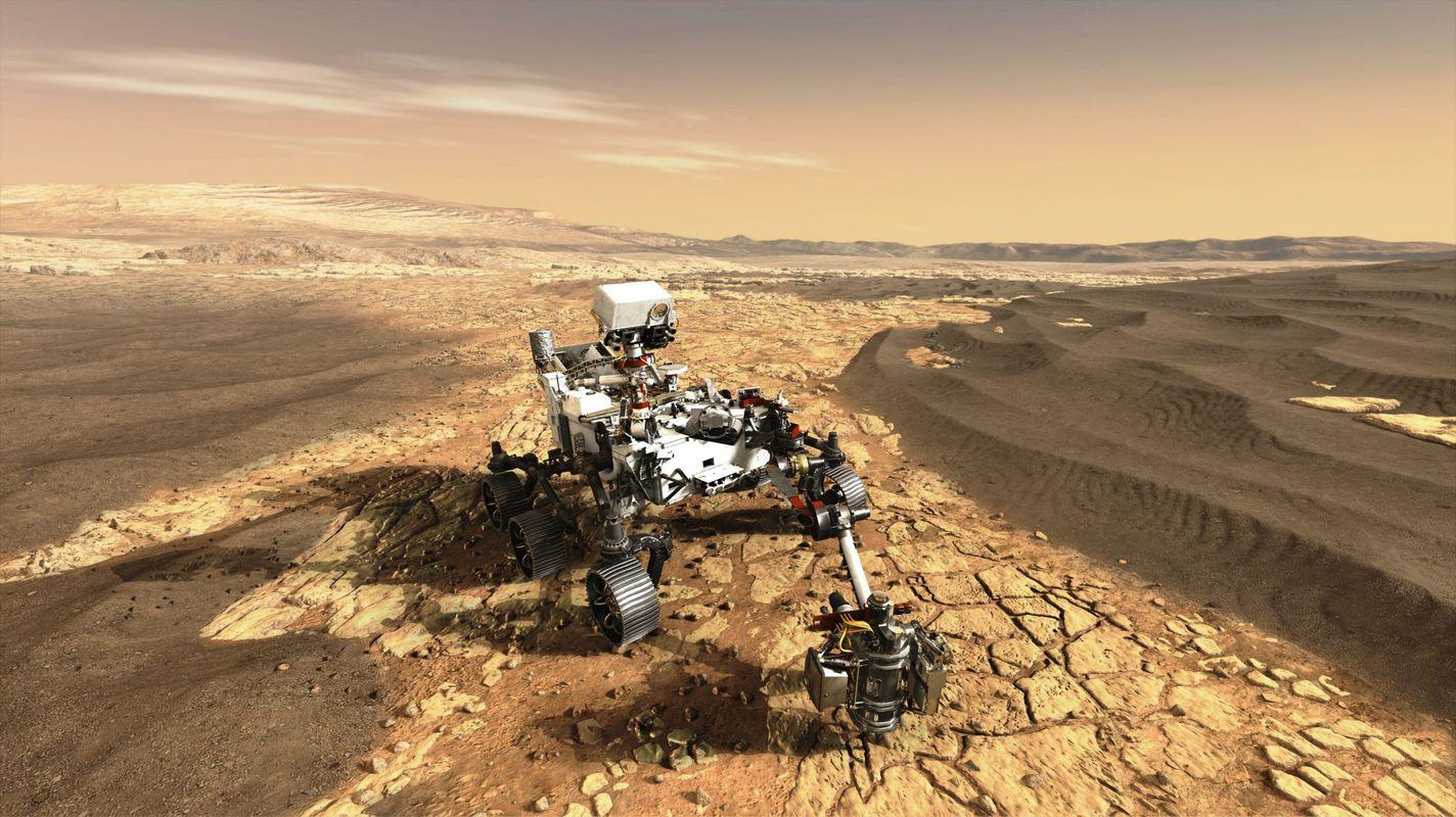 Airbus Uzay Teknolojisi Mars'a Ulaştı - RaillyNews