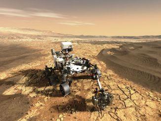 teknologi angkasa udara mencapai marsa
