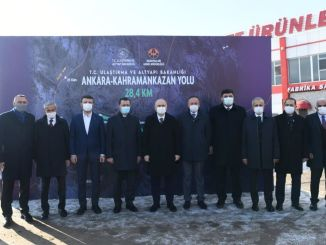 When will the Ankara Kahramankazan road be completed?