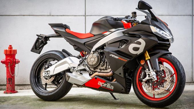 aprilia rs appeared on sale in Turkey