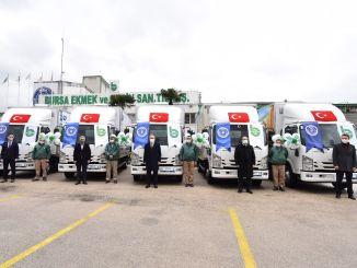شاحنة مسطحة جديدة من الألياف تنضم إلى أسطول بيساس