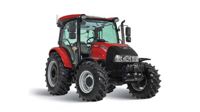 case ih jxe model introduced its new domestic tractor