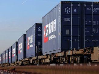 Джин железная дорога побила новый рекорд грузовых перевозок