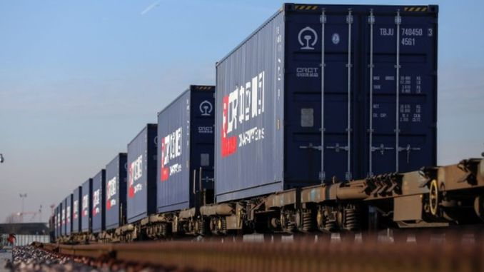 gin rail broke a new record in freight transport