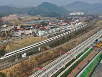 Tracks are fixed in the billion dollar high-speed train project