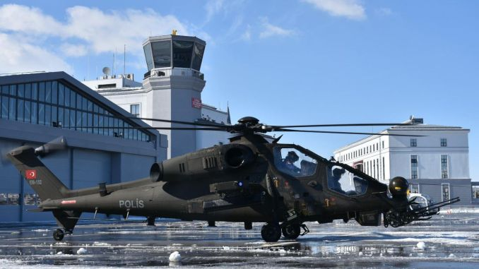 First T attack helicopter delivery order was made to the General Directorate of Security