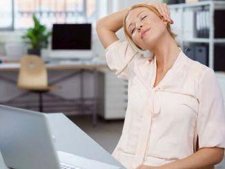 pergerakan apa yang menyebabkan sakit leher