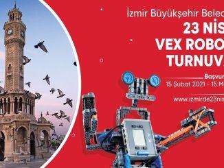 turnir vex robotike iz velikog grada Izmira u aprilu