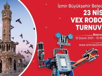 vex robotics tournament from izmir big city in april