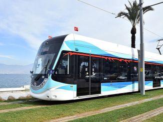 Starker Regen traf Izban und die Straßenbahn in Izmir