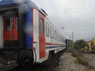 עובד הרכבת נפצע קשה כתוצאה מהתאונה שעברה באיזמיר.
