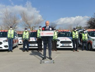 The vehicle added to the highway inspection vehicle fleet was received with the toren