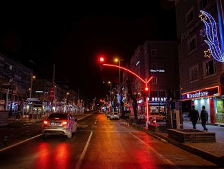 Kayseri switched to led light signaling system