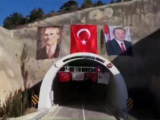 Kizilcahamam Cerkes Tunnel खोला गया है