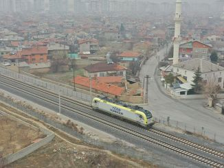 konya karaman high speed train line test drives will continue until March