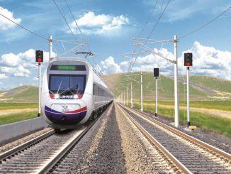 Les essais routiers commencent dans la ligne Konya Karaman YHT