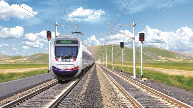 Test drives start in konya karaman yht line
