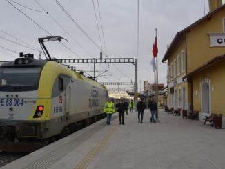test drives started in konya karaman high speed train line