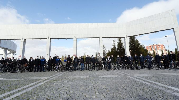 The Length of Bicycle Trails in Konya Reached 550 Kilometers