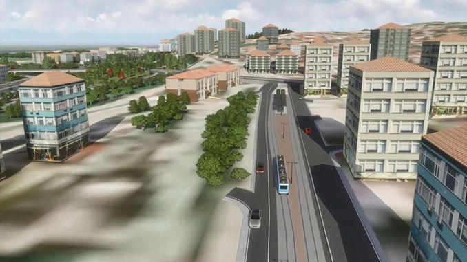 Kurucesme tram line tender contract was signed