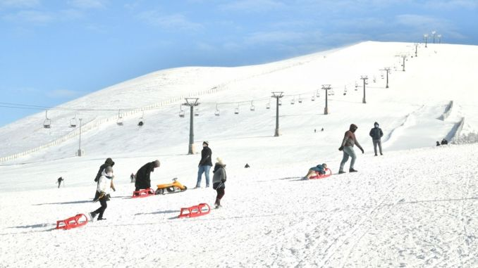 Enjoy skiing in ladik akdag