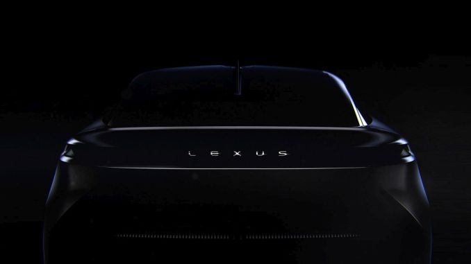 lexus will showcase its new brand vision with a concept vehicle