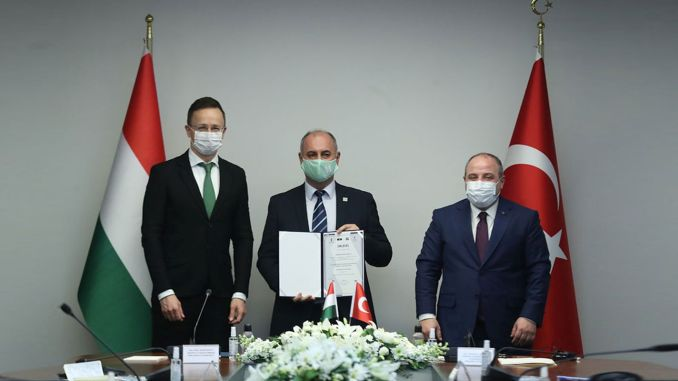 hungary the first investment in the medical sector turkiyeye