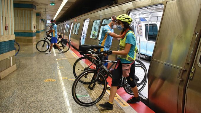 Bicycle crisis on marmaray and baskentray trains moved to tbmm