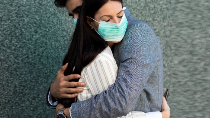 How couple relationships were affected in the pandemic