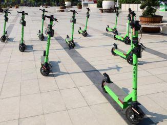 大流行的新起因是踏板車