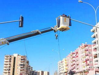 بدأت أعمال التقاطع بإشارات في سانليورفا