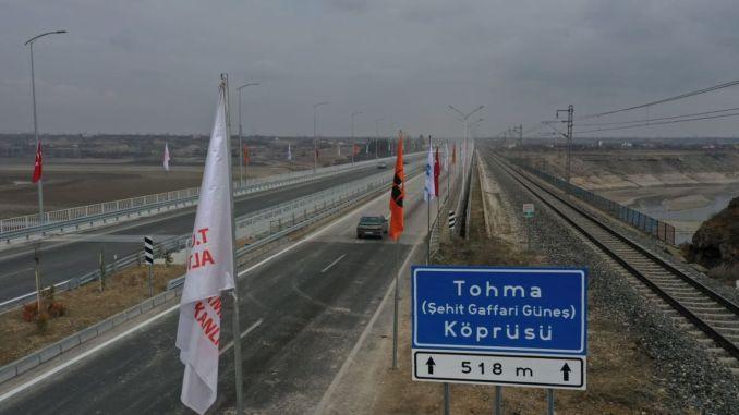 tohma bridge is opened to service