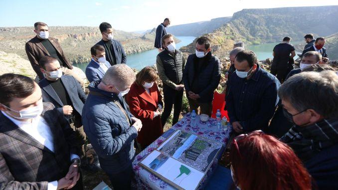 туркиенин је започео изградњу највеће стаклене терасе