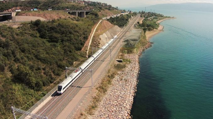 CED process for the new ankara istanbul yht line has started